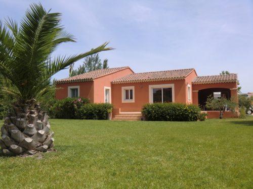 Plain pied 100 m² avec terrasse couverte